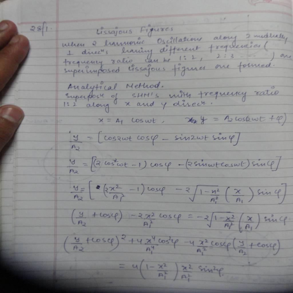 DU 2nd Sem Physics Hons (Oscillations and Waves)-DSC01097.JPG