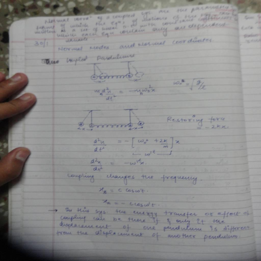 DU 2nd Sem Physics Hons (Oscillations and Waves)-DSC01103.JPG