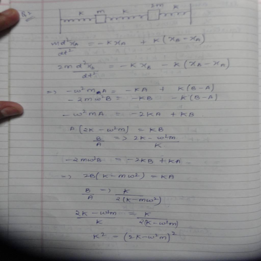 DU 2nd Sem Physics Hons (Oscillations and Waves)-DSC01144.JPG