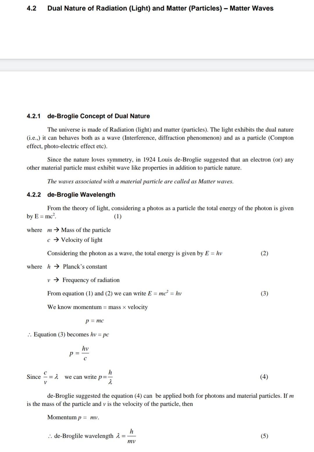 De - Broglie Concept of  dual nature -IMG_20191022_161919.jpg